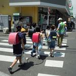 通学路の安全誘導