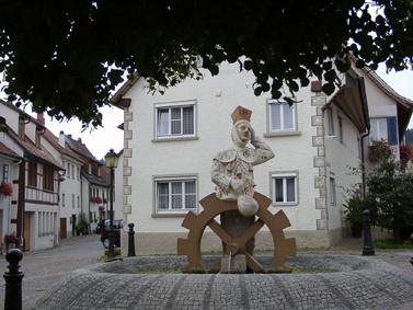 Narrenbrunnen © Stadt Mühlheim