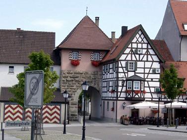 Torplatz © Stadt Mühlheim