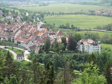 Blick über Mühlheim © Stadt Mühlheim