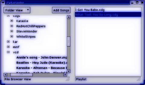 KaraokePlayer per LINUX - Voci Armoniche