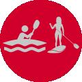 Wassersportgeräte im Verleih bei Baumhauer Outdoorsport in Meckenbeuren