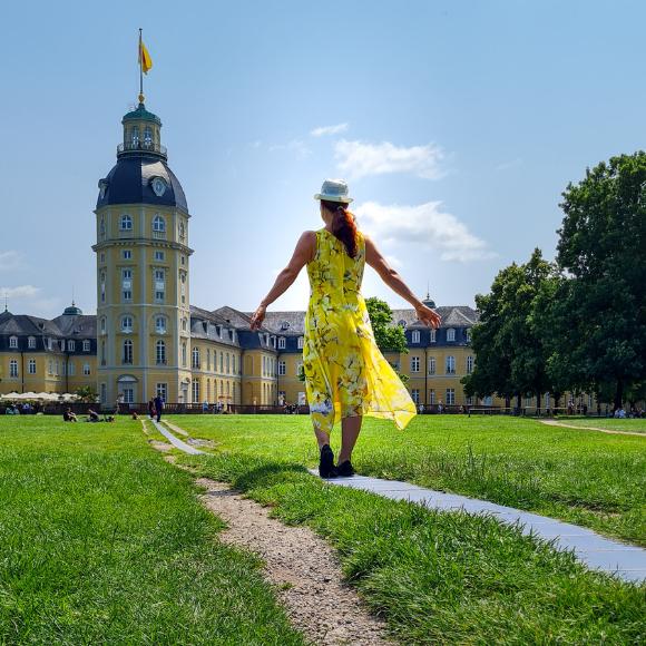 Karlsruhe, die Fächerstadt - Camping, Bio-Fine-Dining, Landesmuseum, Events, Kunst und Radkultur - HVP171
