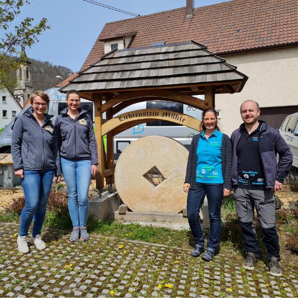 Zu Besuch in der Lichtenstein Mühle - Junge Müllerinnen verraten, wie aus Getreide Mehl wird - HVP163