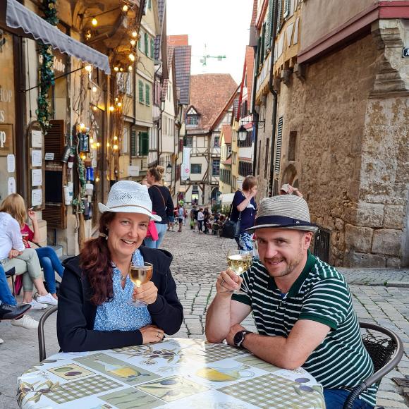 Wochenendausflug nach Tübingen - Zwischen Weinsüden, Früchtetrauf, Stocherkahn, Hölderlin und Härtenrunde - HVP168