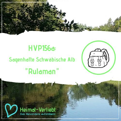 Sagenhafte Schwäbische Alb - Jugendlicher Steinzeitheld Rulaman - HVP156a