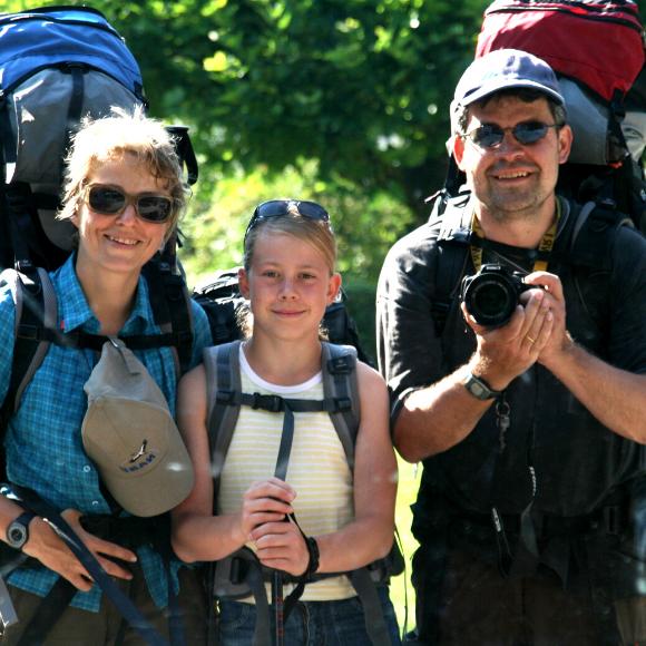 Fernwanderung über die Schwäbische Alb - Claudia Bentziens Tour von Berkheim an den Bodensee mit Mann, Kind & Hund - HVP160