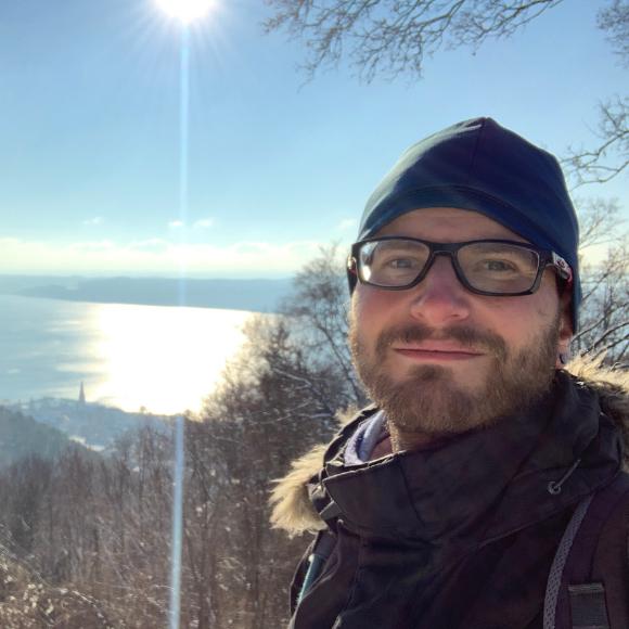 Fernwanderung über die Schwäbische Alb - Jens Friedrichs Wintertour auf dem Heuberg-Allgäu-Weg (HW 9) - HVP161