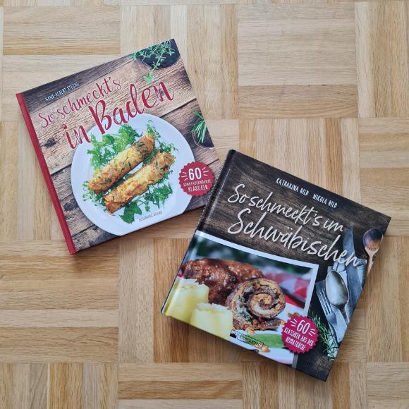 So schmeckt's in Baden und im Schwäbischen - Zwei Küchen und zwei Kochbücher im Vergleich - HVP179