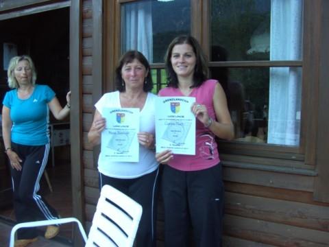 Siegerinnen B-Bewerb: v.l.n.r. Kahlhofer Maria/Fluch Carina