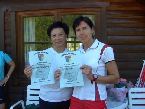 Siegerinnen Bewerb I: v.l.n.r Dietachmayr Christine/Hofer Brigitte
