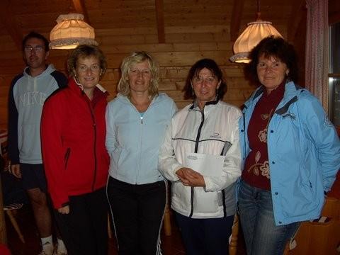 Hobby-Damen Vereinsmeisterinnen und VizeVM