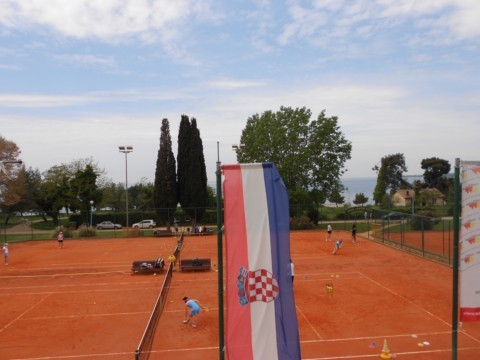 Tenniscamp 2012 in Porec