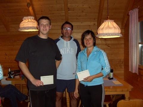 Vizevereinsmeister Mixed/ Kahlhofer Gerald + Hofer Daniela