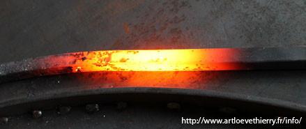 émission thermique température de couleur