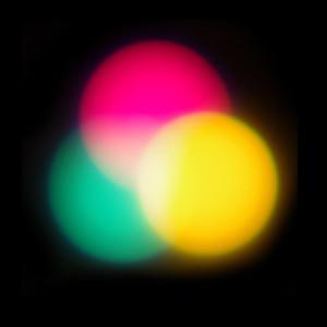 Mélange lumières CMJ synthèse additive