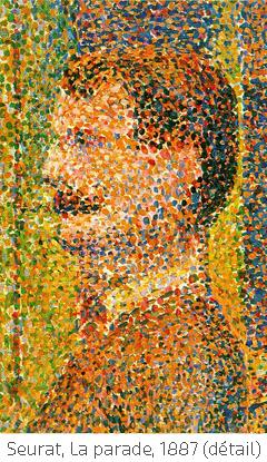 Seurat pointillisme