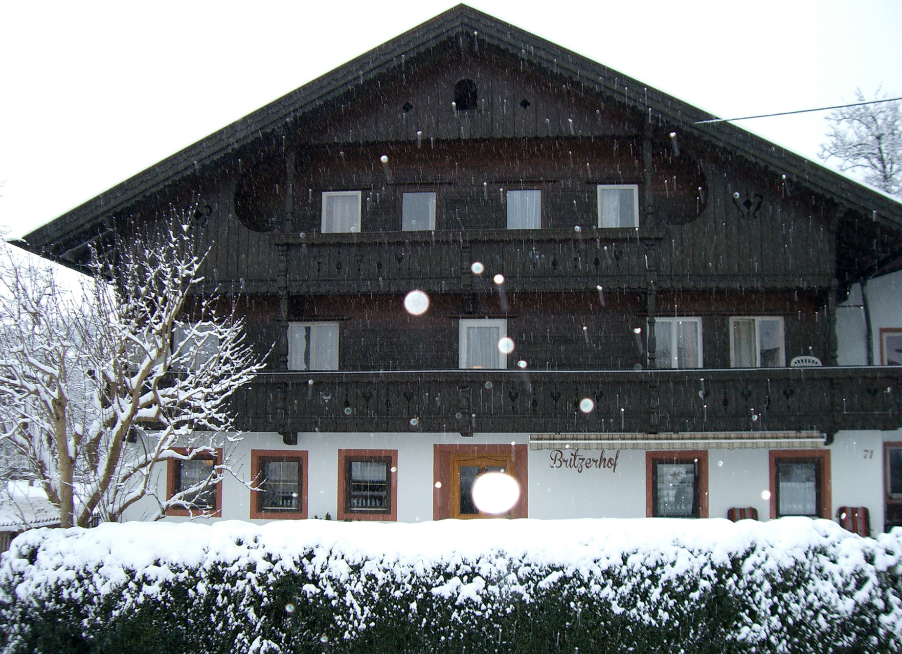 Britzerhof im Winter