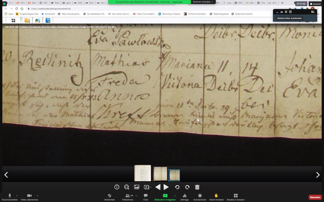 Schwarmwissen half bei Entzifferung alter Handschriften