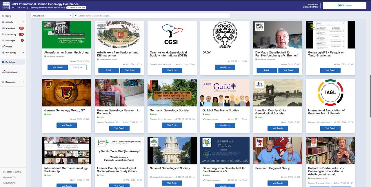 Virtuelle Teilnahme an der IGGC 2021 etablierte den Ahnenforscher Stammtisch Unna endgültig in der internationalen Genealogie-Szene
