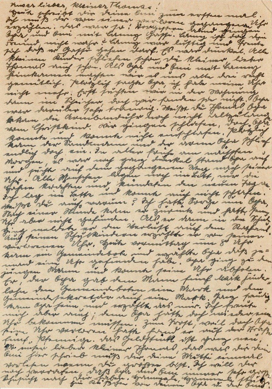 Entzifferung von alten Handschriften sorgt für Stammtisch-Besucherrekord!