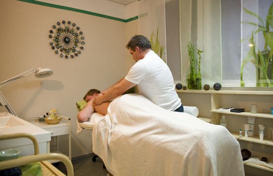 genießen Sie eine Massage