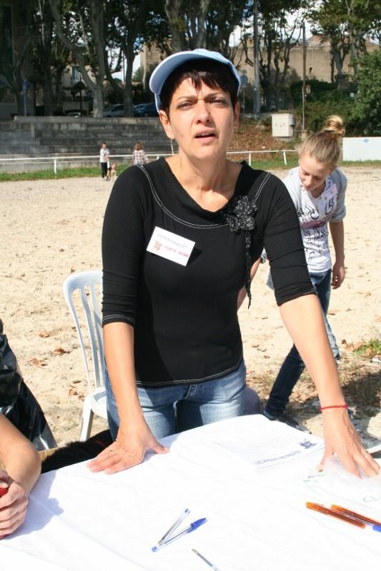 Marie Anne, une des organisatrices
