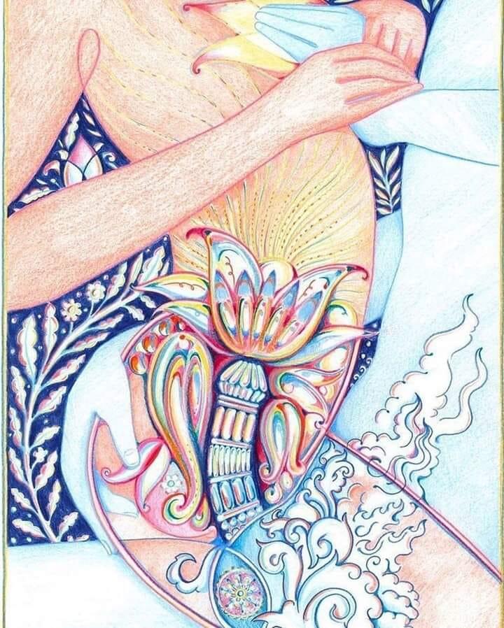 Il Lingam è la porta del Cuore dell'Uomo ed è la chiave che Nutre e Apre il Cuore della Donna