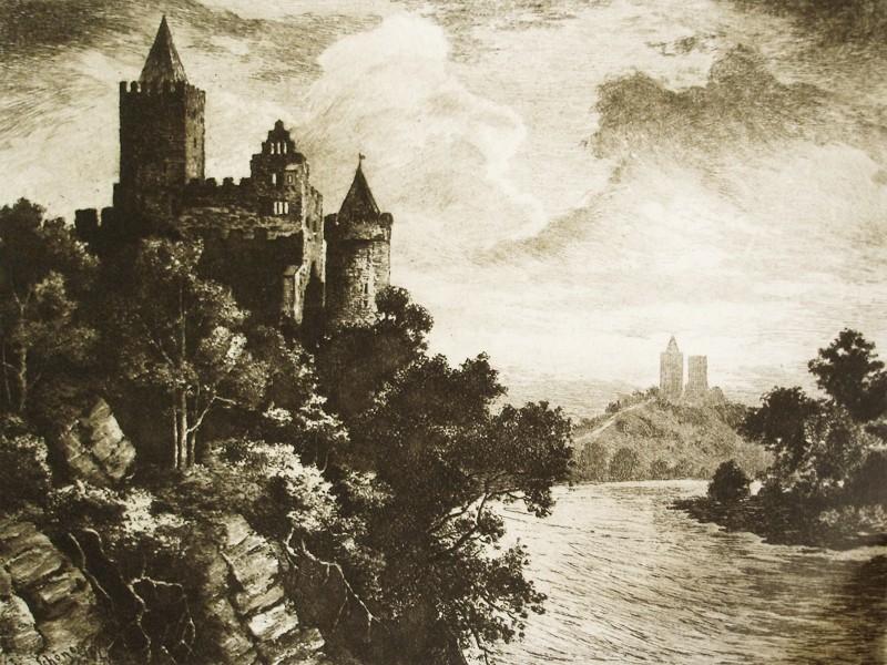 Die Rudelsburg