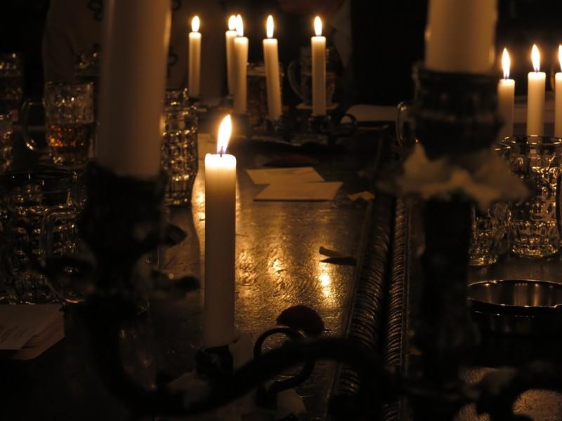 Kerzen zu später Stunde