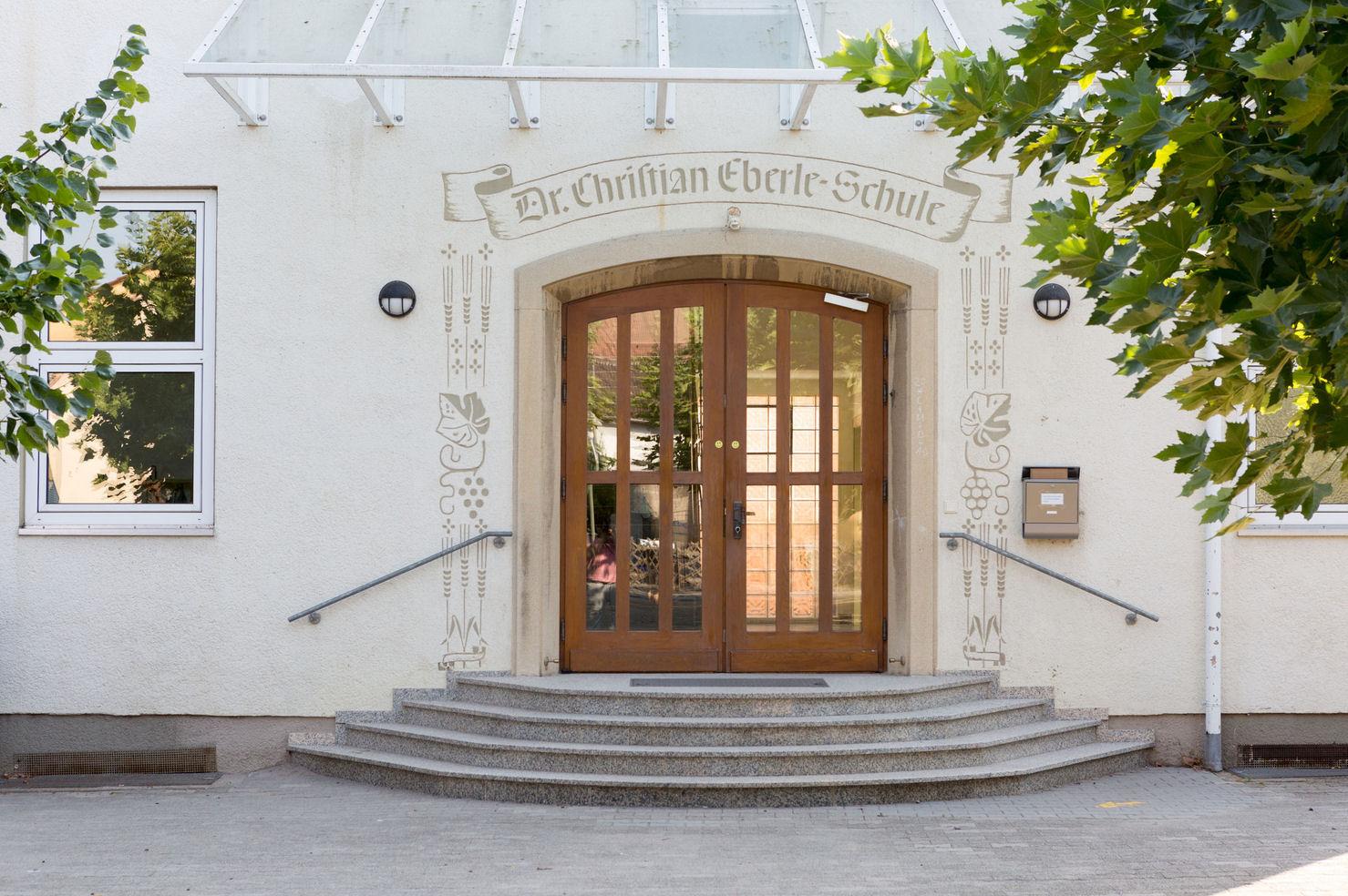 GS Laumersheim historischer Eingang