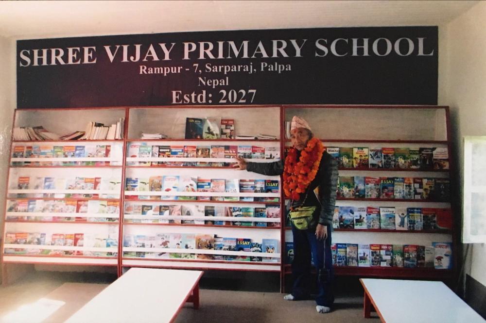 たくさんの子ども用の本が購入されました。