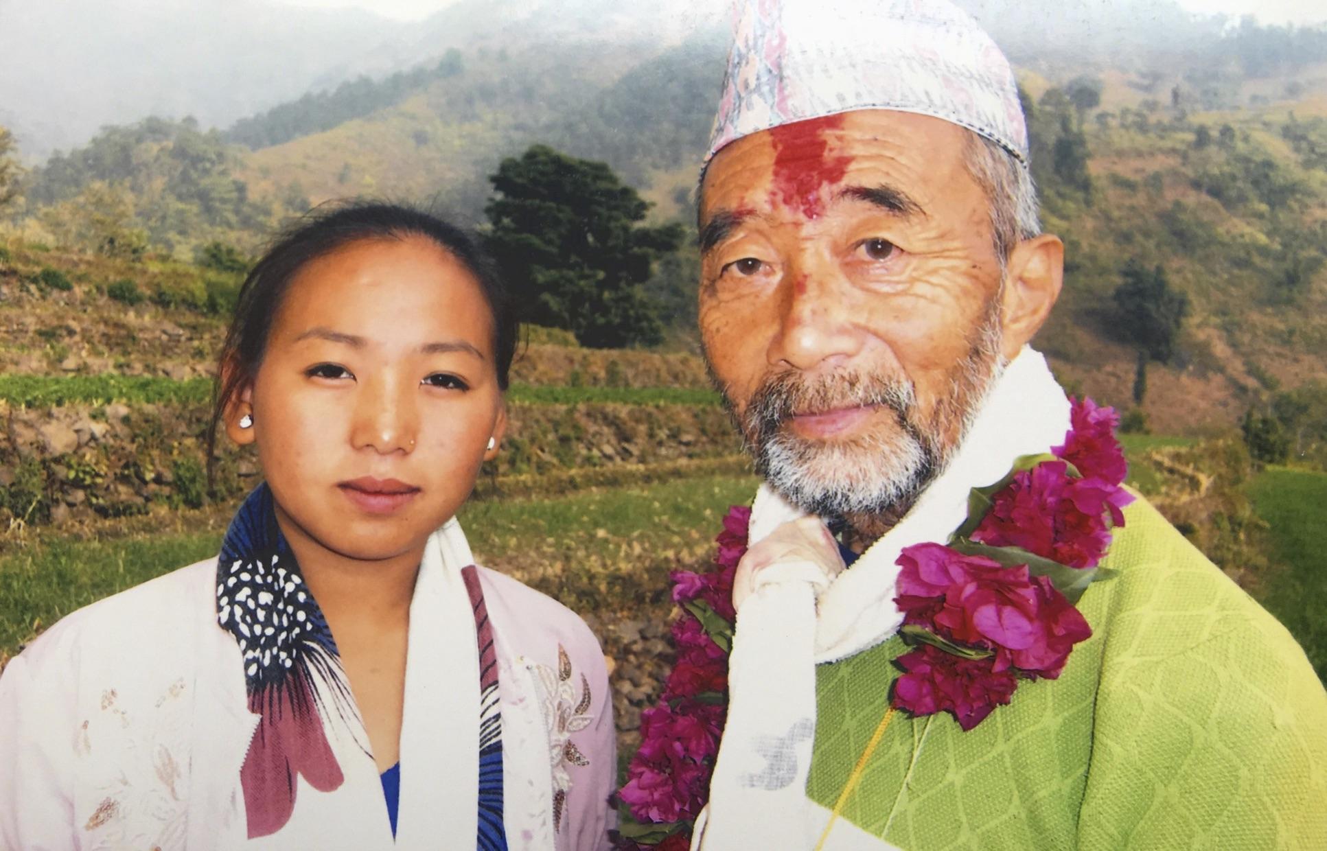 Dan Maya Khanghaさんと 2017.12.23 ラベダマール村で