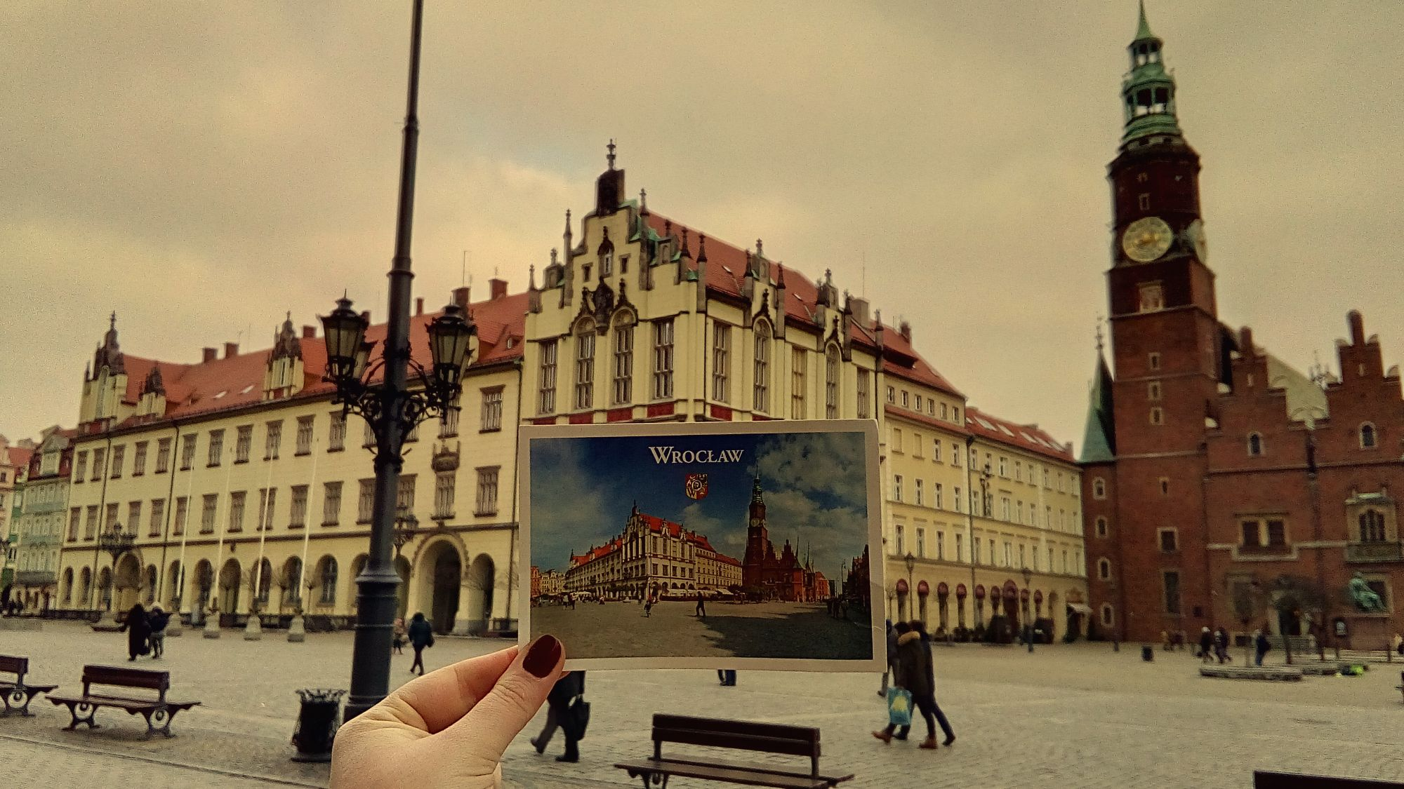 Postcard from Wroclaw