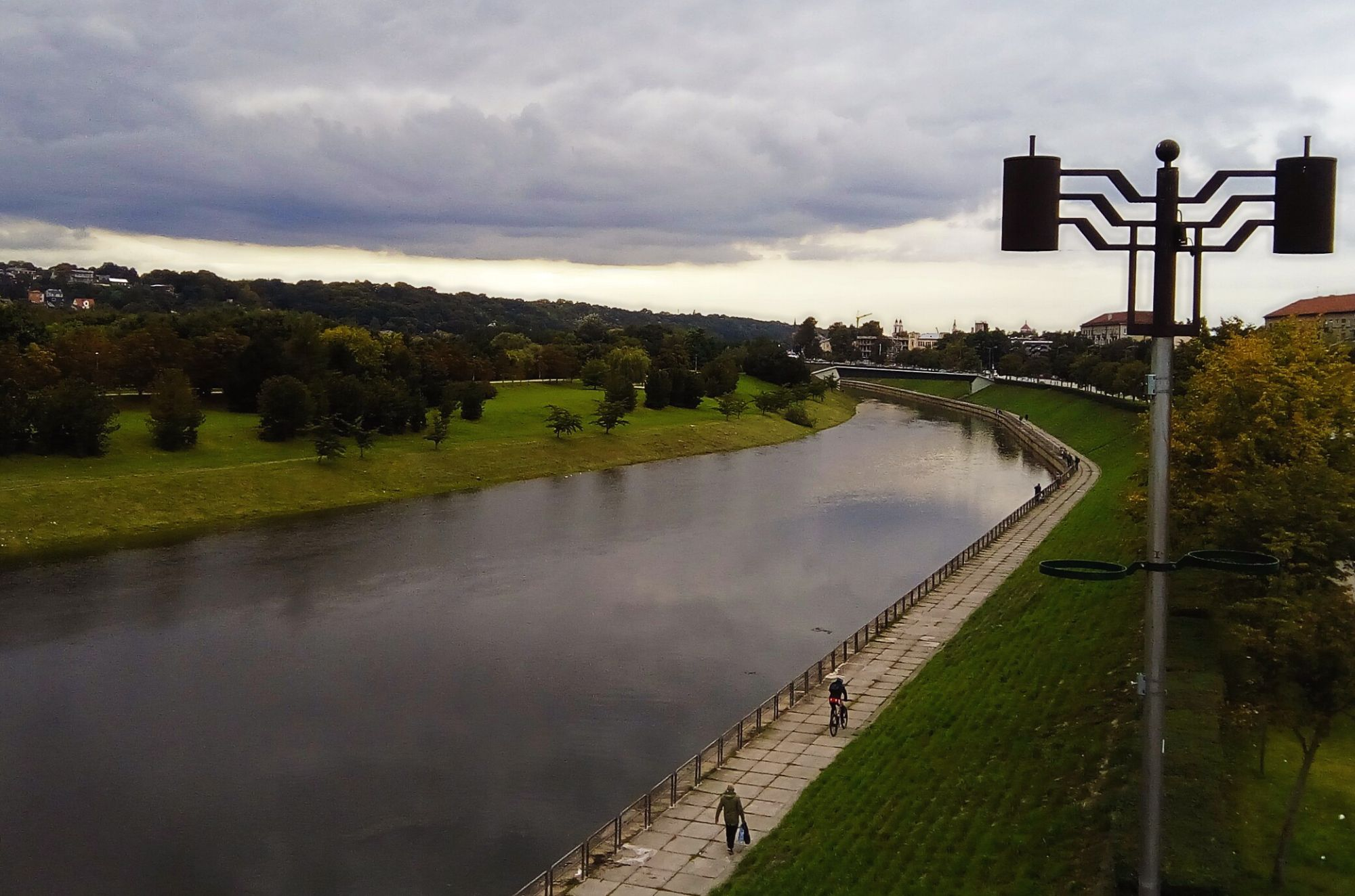 Kaunas is located at the river Neris.