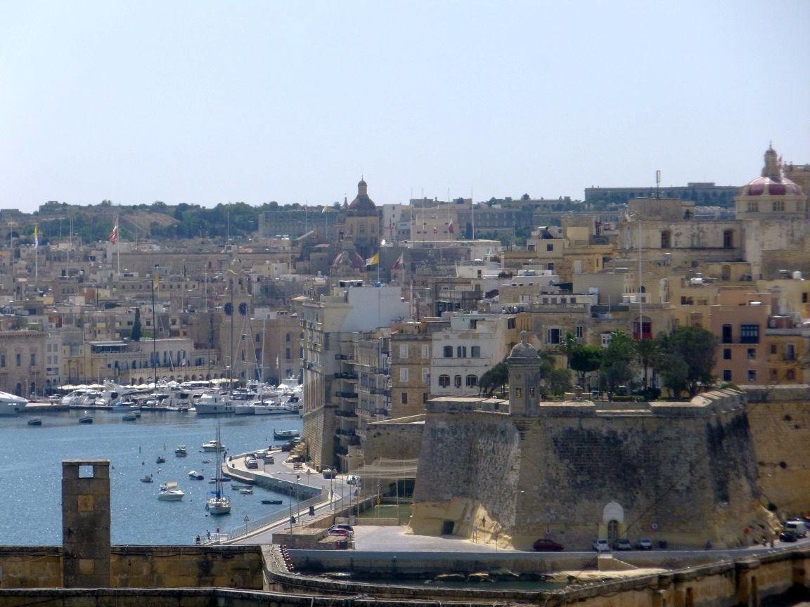 Overlooking Valletta (Malta)