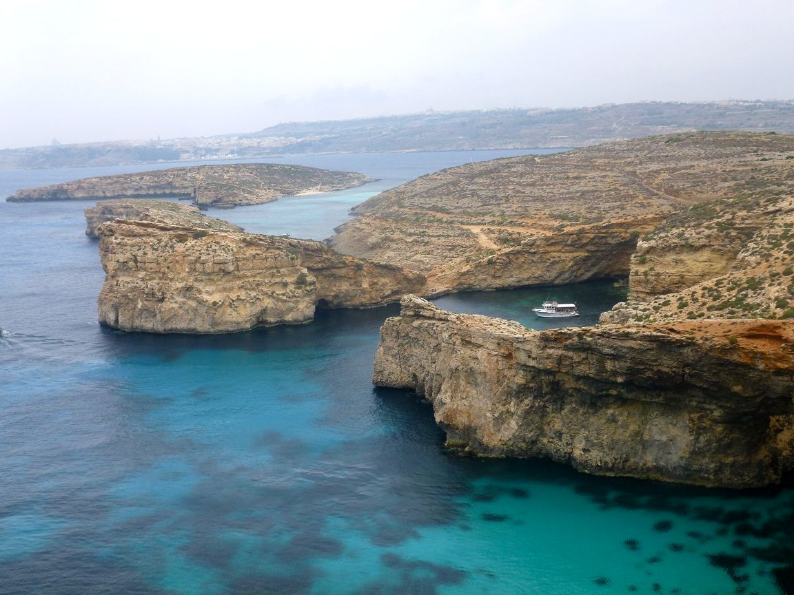 The beautiful Blue Lagoon (Comino)