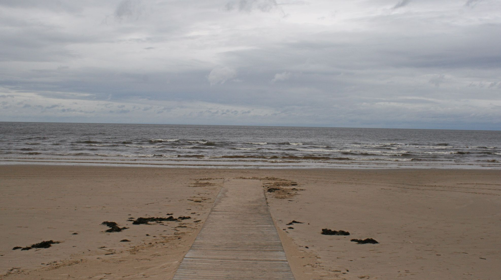 The path that leads to the Baltic Sea.
