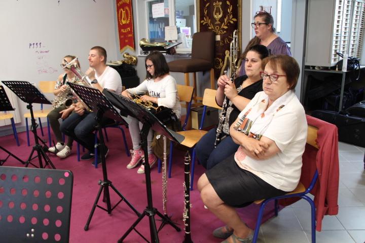 Quelques musiciens pour animer les ateliers