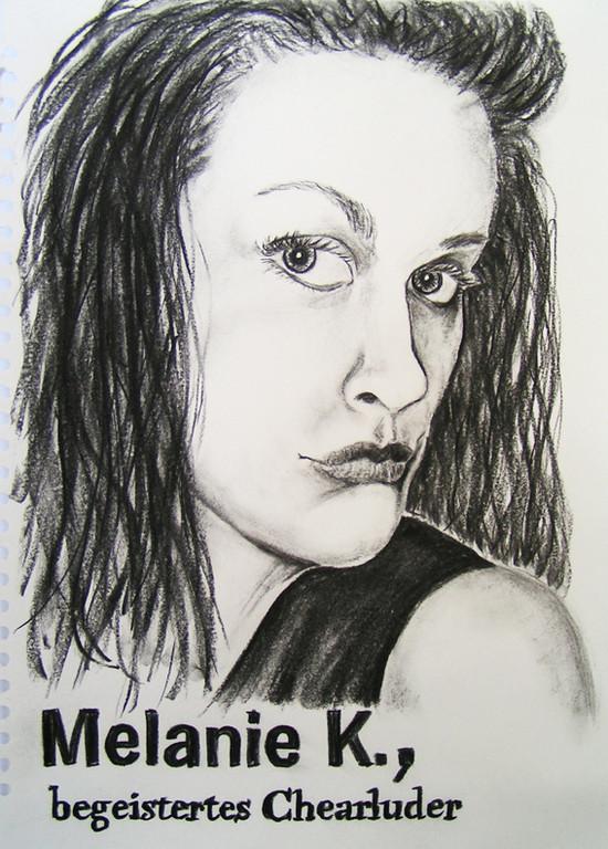 Melanie K., begeisteres Chearluder