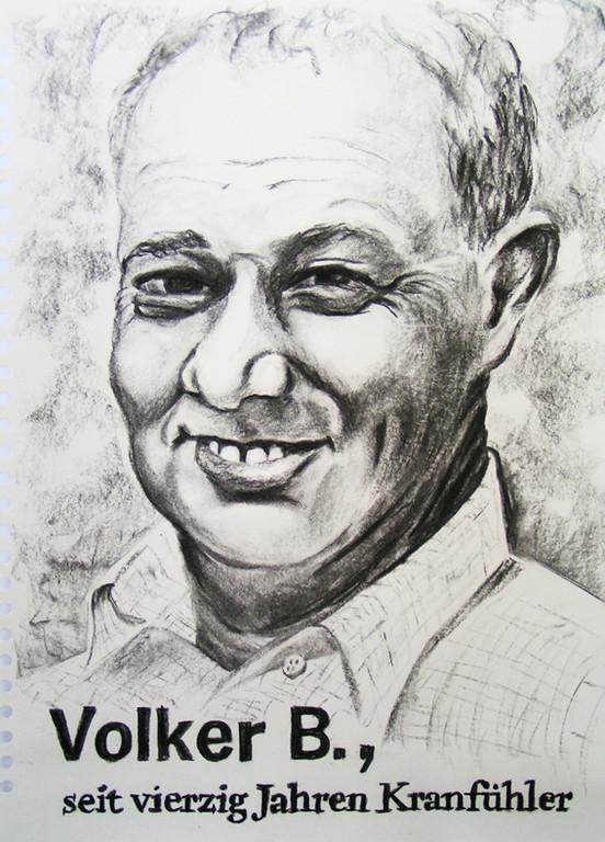 Volker B., seit vierzig Jahren Kranfühler