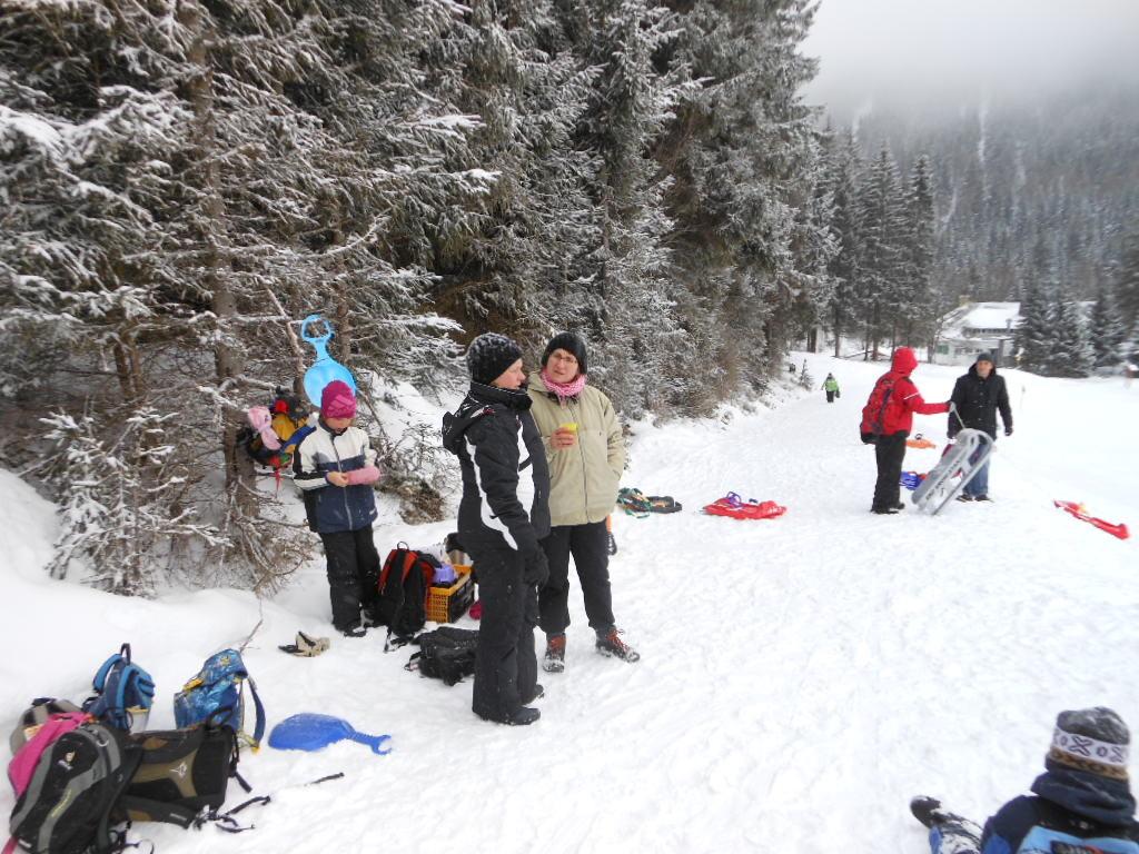 Eine gut ausgerüstete Verpflegungsstation ist die erste Voraussetzng für einen gelungenen Wintersporttag!