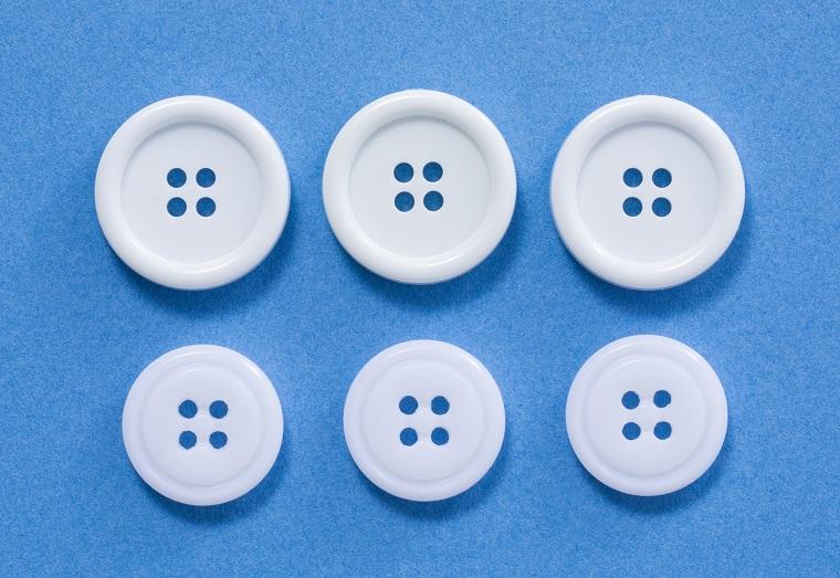 ボタン(上直径24mm、下直径20mm)