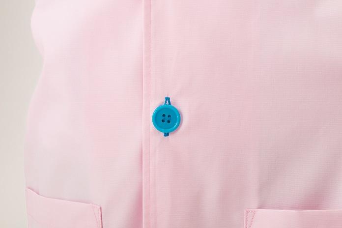 ボタン・ボタンホール色変更(青)