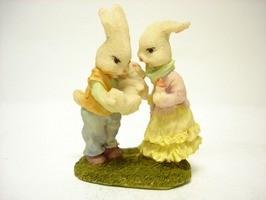 ウサギ若夫婦