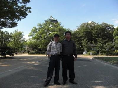 Mr. Cam, Vietnam at Osaka Castle
