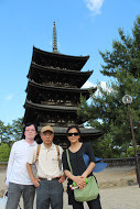 Tony & Grace, Hong Kong at Kofukuji temple, Nara