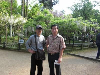 Mr. Phillip Phua, Singapore at Nara park