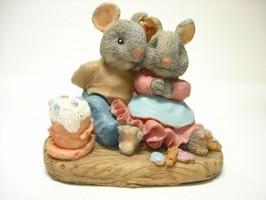 ネズミカップル