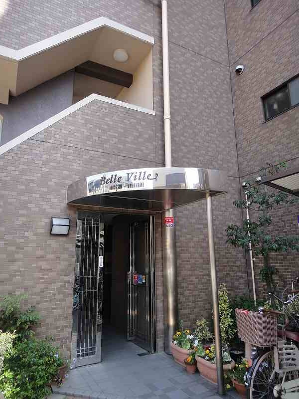 Belle Ville Higashi Nakahama, Entrance